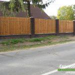 деревянный забор В1