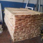 деревянный забор В11