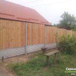 деревянный забор В16