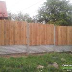 деревянный забор В17