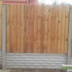 деревянный забор В18