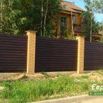 деревянный забор В19