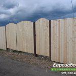 деревянный забор В2