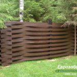 деревянный забор В21