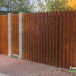 деревянный забор В22