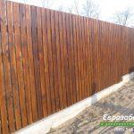 деревянный забор В23