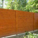 деревянный забор В24
