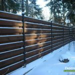 деревянный забор В25