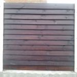 деревянный забор В9