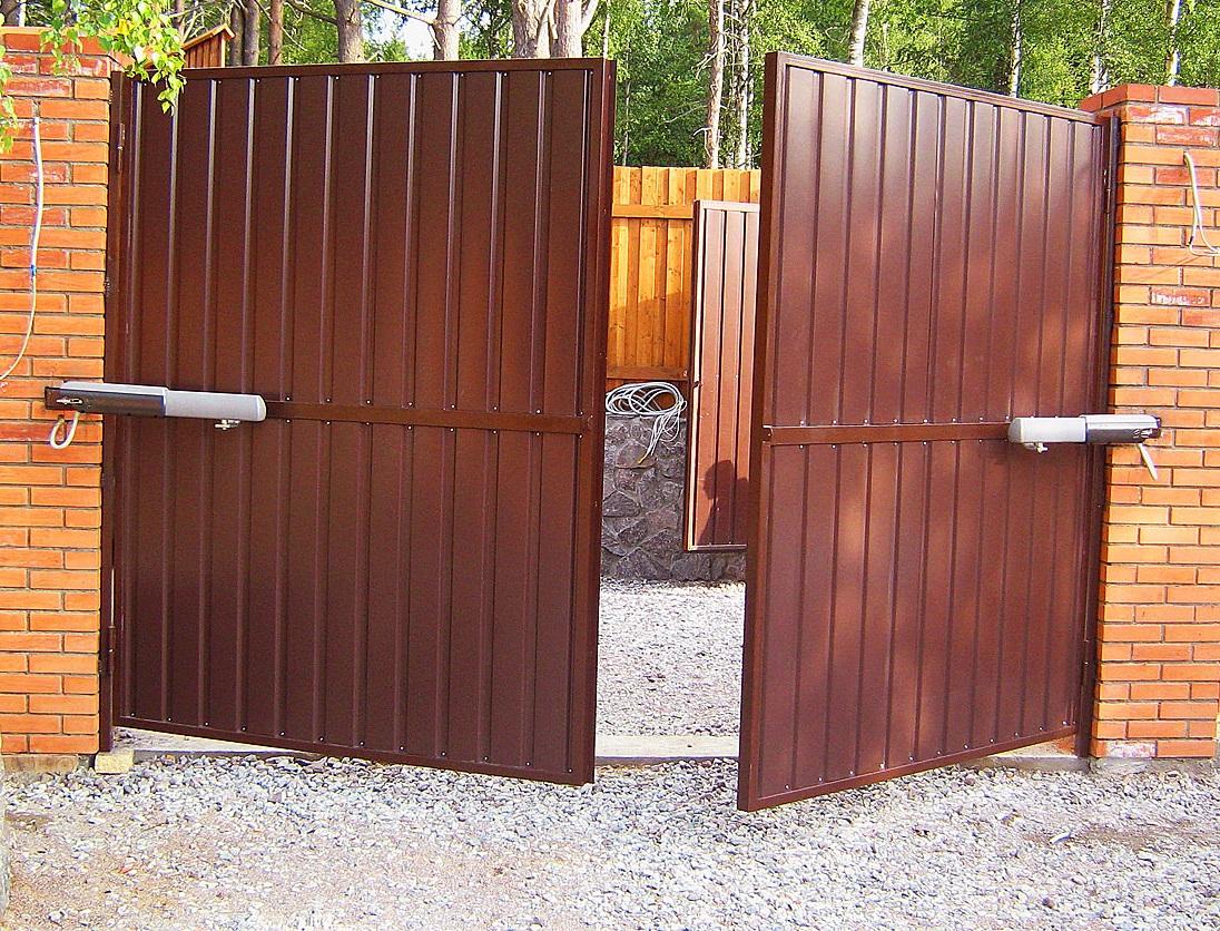 Ворота своими руками красноярск